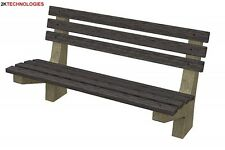 Bachmann 44-514 Benches x 4 Items 00 Gauge New Pack