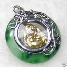 cute rotatable buddha jade luck AA