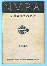 1948 NATIONAL MODEL RAILROAD ASSOCIATION NMRA / N.M.R.A. YEARBOOK