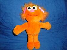 "Sesame Street ZOE 1995 Tyco Plush 9"""