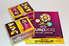 PANINI EM EC EURO 2012 12 – 2 X BOX Display 200 cartocci packets + album germany