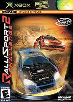 RalliSport Challenge 2 (Microsoft Xbox, 2004) XSN Sports