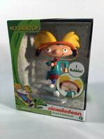 """Hey Arnold  Nick 90's Nickelodeon Just Play Arnold Bobblehead Toy Figure 5"""" NEW"""