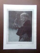 Stampa Fotografia della famosa attrice Eleonora Duse del 1924