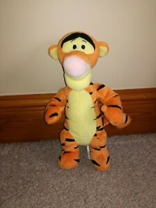 """Tigger Soft Plush Toy Bear 10"""" Fisher Price Mattel Great Condition"""
