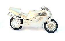 Motor Bike mantel clock super bike ideal biker gift  heavy metal satin finish