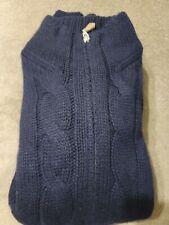 Brunello Cucinelli 100% Cashmere Full Zip Heavy Cable Knit Cardigan 54 L / XL