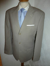 MENS TED BAKER ELEVATED STONE WOOL SUMMER PROM SUIT JACKET 38 WAIST 32 LEG 31.5