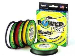 PowerPro 65 lb 300 yds Braided Spectra Line lot of 2pcs