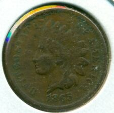 1865 INDIAN HEAD CENT, FINE, GREAT PRICE!