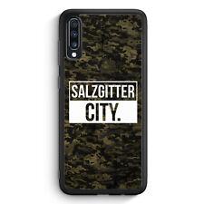 Salzgitter City Camouflage Samsung Galaxy A70 Silikon Hülle Motiv Design Deut...