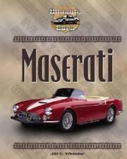 Maserati (Ultimate Cars Set 2)-ExLibrary