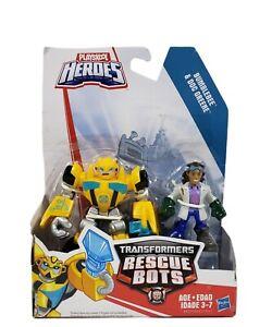 Playskool Heroes Transformers Rescue Bots Bumblebee Doc Greene Figure