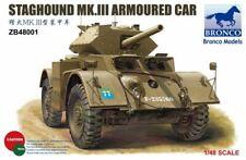 Bronco 1/48 Staghound Mk. III Voiture Blindée #ZB48001