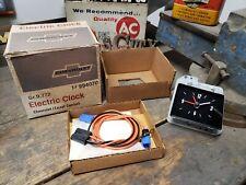 NOS 1971-74 Chevrolet Impala/Bel Air/Biscayne ACCESSORY ELECTRIC CLOCK 994070