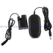 ACK-E6 AC Power Adapter for Canon DSLR EOS 5D Mark II 7D 6D 5D Mark III Camera