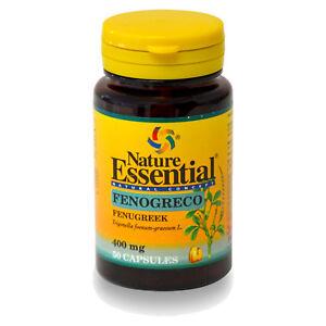 FENOGRECO 400 mg. 50 Cápsulas - NATURE ESSENTIAL - Anabolizante Natural
