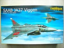 TARANGUS-1/48-#TA4803-SAAB JA37 VIGGEN SWEDISH AIR FORCE FIGHTER
