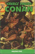 THE SAVAGE SWORD OF CONAN VOLUME 5 dark horse comics
