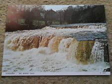 JUDGE.POSTCARD. AYSGARTH-THE MIDDLE FALLS.  NOT POSTED.NUMBER C4441.