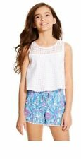 Lilly Pulitzer for Target Girls' Eyelet Tank Top - Size S (6/6X) READY TO SHIP