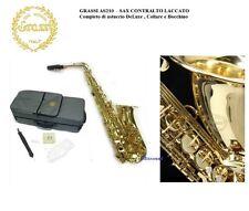 Grassi AS210 Sassofono Sax Alto laccato Mib con custodia zaino bocchino collare