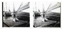 Francia Normandie A Identificare Foto Stereo Placca Da Lente Th4L6n2 Vintage