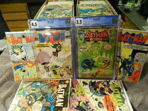 1940 DC Comics BATMAN #100-400 You Pick Issues SILVER AGE - BRONZE AGE - CGC