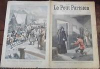 LE PETIT PARISIEN N°840.12/3/ 1905.Fuite du pope Gapone LA G.DUCHESSE SERGE