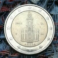 2 Euro Münze Deutschland 2015 Fehlprägung❕(Hessen)