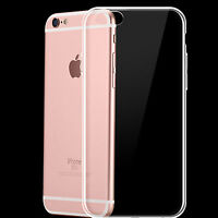 iPhone 6S Plus Silikon Case Schutz Hülle Tasche Transparent Klar TPU Bumper