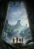 JUMANJI; WELCOME TO THE JUNGLE Movie PHOTO Print POSTER Textless Film Art 003