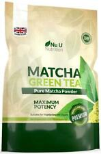 Matcha Green Tea Powder Premium Grade 250g Double Size Pouch  UK Manufactured
