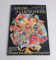 CAPCOM ILLUSTRATIONS 1995 Gamest All Graphical of the CAPCOM Design Art Book