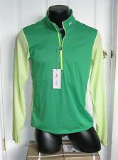Kjus Men Dorian Lightweight Stretchy Windbreaker Halfzip Jacket Size 50 Sample