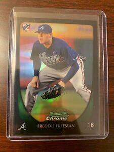 2011 Bowman Chrome Freddie Freeman Refractor Rookie RC #185 Atlanta Braves