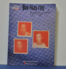 BEN FOLDS FIVE – WHATEVER AND EVER AMEN Transcribed Scores Guitar Bass Drums