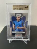 2018 Panini World Cup Kylian Mbappe Prizm Base #80 France BGS 9.5 Gem Mint