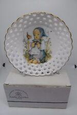 Hummel He Loves Me Trinket Dish Boxed Lattice Porcelain