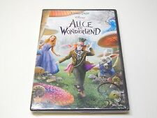 Brand New Alice in Wonderland DVD | Johnny Depp, Mia Wasikowska, Anne Hathaway