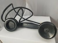 Vintage Kellogg Telephone Receiver Kellogg Switchboard & Supply Company - Black