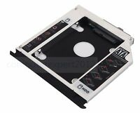 with Faceplate Bezel 2nd HDD SSD Caddy for HP EliteBook 8560w 8570w 8760w 8770w
