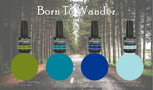 """Tammy Taylor Nails -""""BORN TO WANDER""""  COLLECTION GEL POLISH COLORS"""