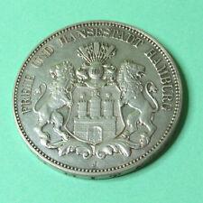Hamburg, 5 Mark 1913 J; #23-2-3