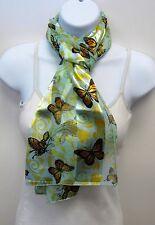 Wholesale Scarf Lot 6 PCS Monarch Butterfly Print Scarves Butterfly Print