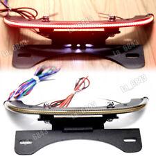 LED Fender Eliminator Integrated Smoke Tail Light Bar For Harley V-Rod 2012UP