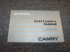1993 Toyota Camry Sedan Owner Owner's Operator Manual DX LE SE XLE 2.2L 3.0L V6