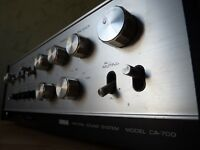 amplificateur légende YAMAHA CA - 700 vintage integrated amplifier stereo 1972