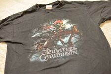 Vintage  Disney Store Pirates Of The Carribean Shirt Large