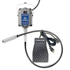 Foredom M.SR-FCT foot pedal, #30 Handpiece, 115v 1/6 hp 18,000 rpm